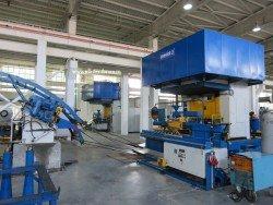 Участок металлообработки состоит из двух автоматизированных линий
