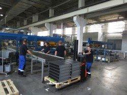 Производительность покрасочной линии - 1000 радиаторов Будерус за смену