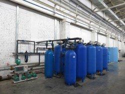Станция подготовки воды на заводе Еврорадиаторы в Энгельсе