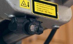 Интерскол ПРР 250 2000 пила торцовочная с протяжкой торцовочно усовочная протяжка лазерный указатель рез линия
