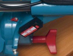 Кратон MS 1900 305 пила торцовочная с протяжкой торцовочно усовочная протяжка стопор шарнир пильная головка рукоятка фиксатор угол наклон