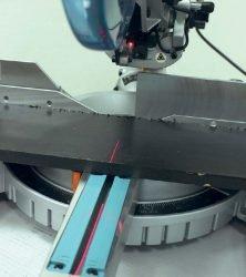 Makita LS 1018 L пила торцовочная торцовочно усовочная протяжка указатель лазерный лазер