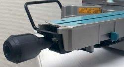 Makita LS 1216 пила торцовочная протяжка торцовочно усовочная рукоятка рычаг стол поворотный разблокировка