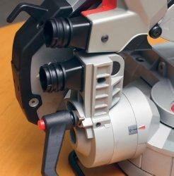 Milwaukee M18 SMS216 0 пила торцовочная аккумуляторная с протяжкой протяжка патрубки шкала угол наклон