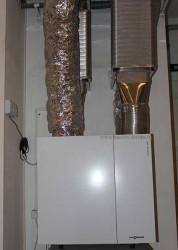 Вентиляция Viessmann Vitovent 300 с рекуперацией