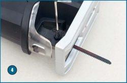 Skil 4600 LA Combisaw лобзик пила сабельная ключ шестигранный зажим пилки