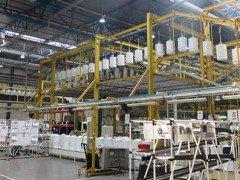 Производство водонагревателей Аристон на заводе Ariston во Всеволожске