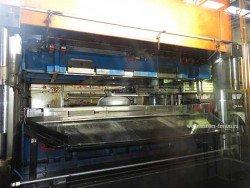 Линия штамповки на заводе Аристон во Всеволожске