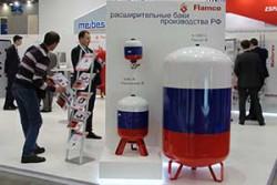 Meibes показал расширительные баки Flamco российского производства