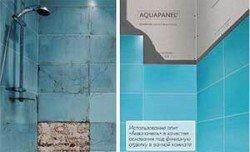 Аквапанель Цементная плита Внутренняя Кнауф - для облицовки влажных стен