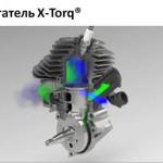 Двигатель Husqvarna X-Torq
