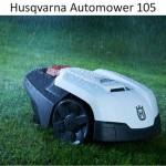 Husqvarna Automower 105 - новая газонокосилка-робот