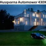 Husqvarna Automower 430X - новая газонокосилка-робот