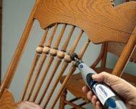 Реставрация стула с помощью Dremel 3000
