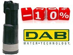 Скидки на DAB Divertron и промышленные насосы