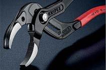 Knipex: инновационные захватные трубные клещи