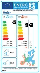 Сезонные коэффициенты энергоэффективности Haier SEER и SCOP