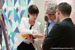 Текстиль, обои, презентации для дизайнеров на выставке MosBuild