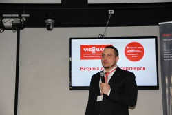 "Станислав Новицкий, директор по продажам ""Виссманн"", рассказал о новинках Viessmann 2016"