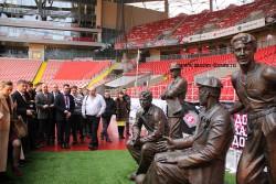 Партнеры Виссманн на стадионе Открытие Арена