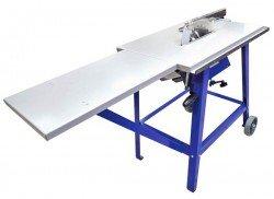 Циркулярный станок Belmash CBS-2000 (Завод Белмаш, Беларусь) имеет возможность установки заднего и бокового столов