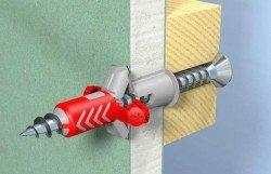 Fischer DuoPower - двухкомпонентный универсальный дюбель