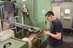 Tiemme механическая обработка контейнер контрольный завод фабрика Castegnato Italy Кастеньято Италия