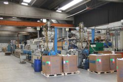 Tiemme экструзия цех производство труб труба фабрика завод Castegnato Italy Кастеньято Италия