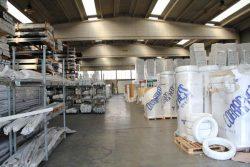 Tiemme экструзия труба склад труб пластиковая цех фабрика завод Castegnato Italy Кастеньято Италия