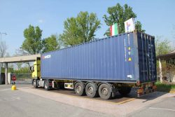 Tiemme завод фабрика склад готовая продукция грузовик взвешивание Castegnato Italy Кастеньято Италия