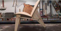 Изогнутый стул от Dremel и немецкого архитектора Ван Бо Ле-Ментцеля
