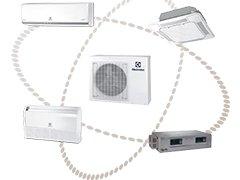 Мульти-сплит-система Electrolux Super Match ERP с DC-инверторным управлением