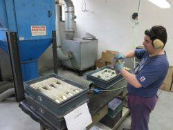 IB Rubinetti Rubinetterie смеситель душ кран финишная обработка Италия фабрика завод