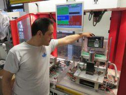IB Rubinetti Rubinetterie смеситель проверка герметичность воздух вода Италия фабрика завод