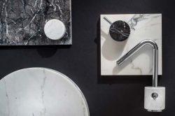 Фабрика IB Rubinetti Rubinetterie смесители мраморный мрамор декор Италия