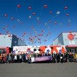 Сотрудники LG и ОРКК запустили в небо ракеты