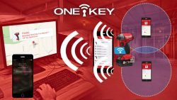 Milwaukee One-Key - функция отслеживания инструмента M18 Fuel