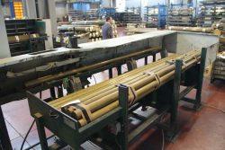 Gnutti Cirillo Tiemme Италия обрезка отрезная машина завод фабрика Odolo Italy Одоло