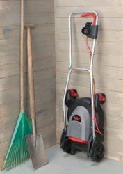 Урбанистическая газонокосилка Skil 0711 Urban Mower: Easy storage
