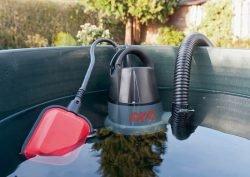 Погружной (подводный) насос Skil 0805 для чистой воды: поплавковый выключатель