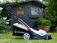 Sterwins 360 - электрическая газонокосилка от Leroy Merlin