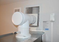 Дымоход системы LAS Viessmann с датчиком загазованности