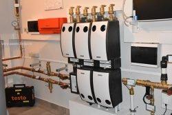 Распределительный узел системы отопления