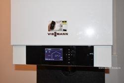 Настенный конденсационный котёл Viessmann Vitodens 200‑W в системе отопления дома