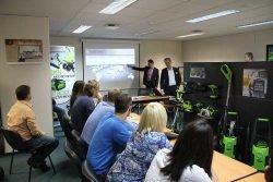 GreenWorks Globe Tools Stihl конфренция