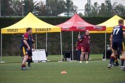 Тренировка с реальными тренерами ФК «Барселона»