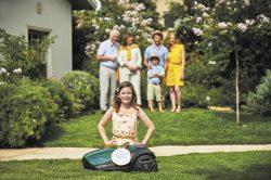 Robomow выбор робот газонокосилка подключение к интернет