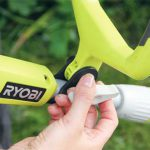 тест гибридный триммер Ryobi аккумуляторный