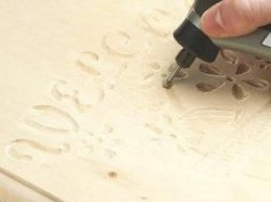 Многофункциональный инструмент Dremel: обработка камня