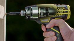 Ударный механизм Ryobi R18ID3-0 - 3-скоростного аккумуляторного импульсного винтоверта